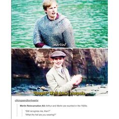 YES YES OMG YESSSS MAKE IT HAPPEN BBC | Merlin | Once and future king