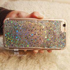 Silver glitter iphone 8 case silver glitter iphone 7 case