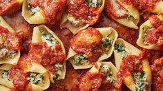 With three kinds of cheese and plenty of sweet Italian sausage, this easy stuffed shells recipe is one you'll make again and again.