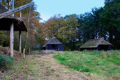 Putten, boerenschuren op het landgoed Oldenaller