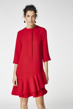 26 New ideas for style elegant carolina herrera Fall Dresses, Casual Dresses, Fashion Dresses, Summer Dresses, Trendy Fashion, Fashion Looks, Womens Fashion, Trendy Style, Fashion Fashion