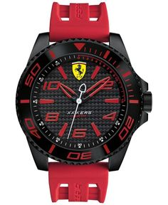 Scuderia Ferrari Men's Xx Kers Red Silicone Strap Watch 50mm 830308 - https://www.luxury.guugles.com/scuderia-ferrari-mens-xx-kers-red-silicone-strap-watch-50mm-830308/