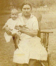 Creek mother and son - circa 1930