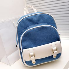 stacy bag women fashion backpack girls cute small canvas travel backpack student school bag children backpack ladies bag $16.00