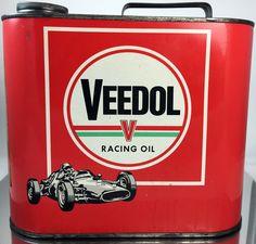 Veedol (European) - Racing Oil - Front of Can