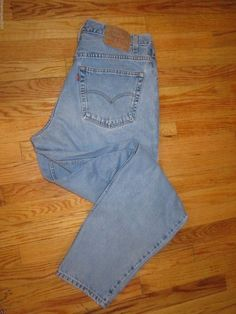 Vintage Levi's 560 38 x 34 Red Tag Button stamped #740 #Levis #LooseFitTaperedLeg