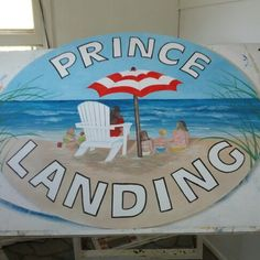 Flat hand painted house sign. Jaxonsigns@gmail.com