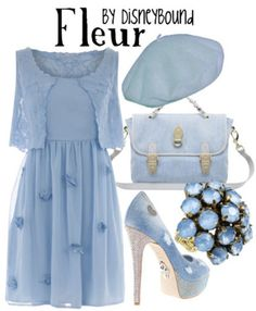 Fleur  by Disneybound..pinning this for my friend Flor! :) @Flor Fausnaugh
