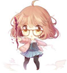 Cute Kyoukai no Kanata Mirai Kuriyama