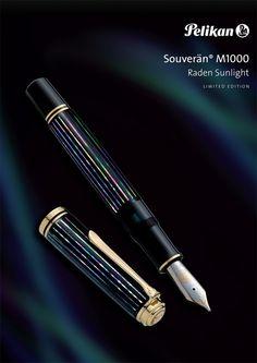 Limited Edition Pelikan Souveran 1000 Raden Sunlight Fountain Pen