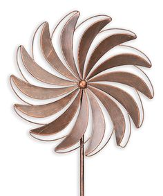 Loving this Wind Farm Kinetic Garden Stake on #zulily! #zulilyfinds