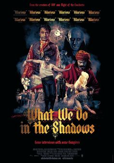 New Vampire Film 'What We Do in the Shadows (2014)' Photo Still and Poster