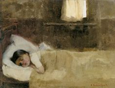 Helene Schjerfbeck (Finland Nukkuva Tytto - Sleeping Boy oil on canvas 27 x cm Helene Schjerfbeck, Sleeping Boy, Pomes, Abstract Images, Oeuvre D'art, Painting & Drawing, Oil On Canvas, Art For Kids, Illustration Art