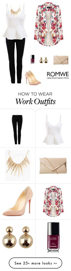 """Romwe 6"" by amra-f on Polyvore"