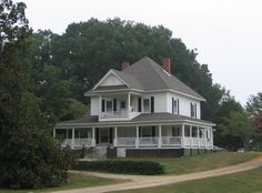"Barbara McCormick House, North Greenville University.  Barbara and Lee McCormick met when they were students at North Greenville and returned to work there in 1996.  They restored this house that had been called ""The Porch"" when male students lived there."