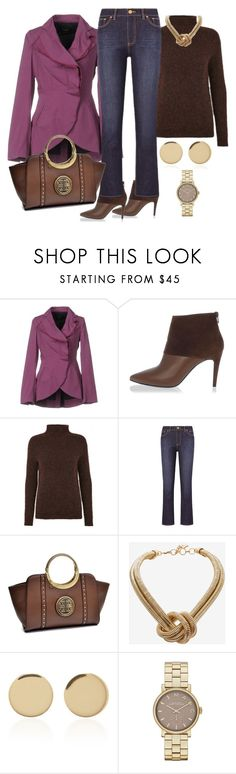 """office day"" by francymayoli ❤ liked on Polyvore featuring Adele Fado, Pierre Hardy, Just Female, Tory Burch, Dasein, BCBGMAXAZRIA, Magdalena Frackowiak and Marc Jacobs"
