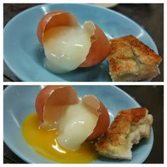 A thing of beauty. One of the many reasons I love Asia. they don't f up eggs. Soft Boiled Eggs, Singapore, Breakfast Recipes, Asia, Eat, Food, Essen, Meals, Yemek