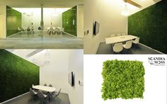 Scandia Moss SM Panels - Creating Green, Sustainable & Maintenance-Free Interiors. Harmful Substance Removal & Deodorization (JEM 1467) and Acoustic Insulation (KS F 2805). Customized installations can be accomplished without the need for further maintenance.   www.scandiamoss.com  #mosstile #walltile #mosswallart #airpurifierpanel #wallgarden #organicpanel #interiordecor #DIYpanel