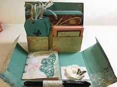 Stationery Box - Open