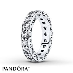 Pandora Eternity Ring Clear CZ Sterling Silver
