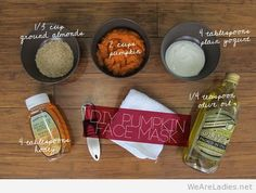 DIY Pumpkin Face Mask for women