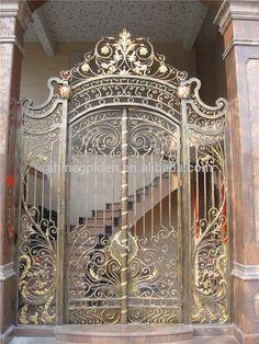 Iron Main Gate Design, Iron Gates, Crafts, Home Decor, Iron Doors, Manualidades, Decoration Home, Room Decor, Steel Gate