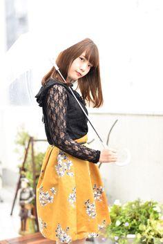 【まとめ】2017.10.29さくらフォト Cute Asian Girls, Beautiful Asian Girls, Kawaii Girl, Floral, Skirts, Korean, Fashion, Moda, Skirt