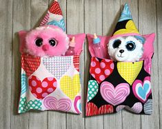 Beanie boo birthday   Etsy Beanie Boo Party, Beanie Boos, Beanie Boo Birthdays, Doll Beds, Black Flowers, Pet Beds, Fabric Patterns, Art Dolls, Things To Sell