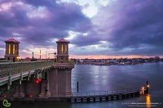 The Bridge of Lions in Historic St. Augustine, Florida Landscape by Robin Anderson Photography.