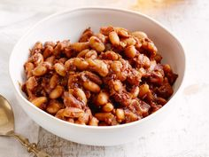 Giada incorporates beer, brown sugar and balsamic vinegar for a savory-sweet spin on baked beans.