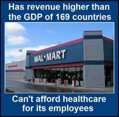 Of course they can afford it, they just choose to treat their employees as disposable