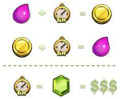 Clash of clans - how to design a virtual economy that engages users