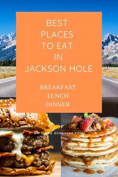 Wyoming Vacation, Yellowstone Vacation, Yellowstone Park, Jackson Hole Dining, Jackson Hole Restaurants, West Road, Jackson Hole Wyoming, Best Places To Eat, Jackson Hole