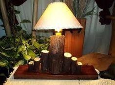 Resultado de imagen para living ornamentacion con troncos