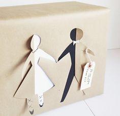 Como Fazer Embrulho De Presente Para Casamento | Revista Artesanato