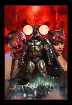 Batman Arkham Unhinged by Dave-Wilkins on DeviantArt