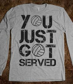 Volleyball is a sport that I am definitely looking into playing. I play volleyball often with my friends which keeps me going- especially in the summer. Volleyball Shirts, Volleyball Outfits, Play Volleyball, Volleyball Quotes, Cheer Shirts, Cut Shirts, Party Shirts, Volleyball Pictures, Volleyball Setter