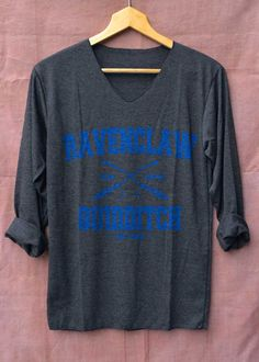 ravenclaw quidditch blue harry potter shirts black by topsfreeday