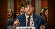 """Ashton Kutcher took a break from the big screen on Wednesday to deliver a compelling testimony before the Senate Foreign Relations Committee at a hearing to help end sex trafficking and modern-day abuse. The 39-year-old actor is also the chairman and co-founder of a company calledThorn, which utilizes advanced technology to detect, deter, and even prevent instances of sex trafficking and abuse. Kutcher began his passionate testimony by thanking the committee, noting: """"This is a bipartisan…"""