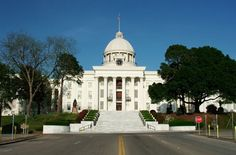 State Capitol Building in Alabama.
