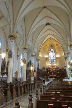 Cathedral of the Immaculate Conception -- tourist sites in Fort Wayne, Indiana