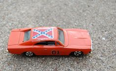 The General Lee- I had two of these old dinky car toys. Actually still have them.