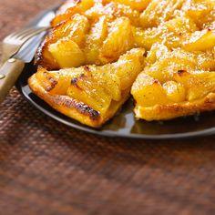 Découvrez la recette Tarte tatin à l'ananas sur cuisineactuelle.fr.
