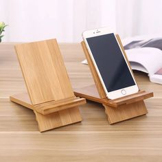 Stands information about innovation desktop bamboo mobile phone holder soli Diy Phone Stand, Wood Phone Stand, Tablet Stand, Wood Ipad Stand, Wooden Phone Holder, Cell Phone Holder, Woodworking Projects Diy, Wood Projects, Mobile Holder