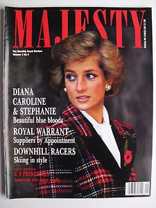 majesty magazine with princess diana on cover - Google Search