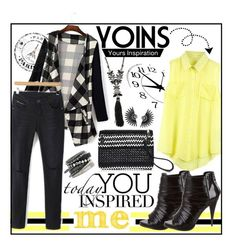 """""""Yoins! #29"""" by ina-kis ❤ liked on Polyvore featuring Marchesa, Givenchy, H&M, women's clothing, women, female, woman, misses, juniors and yoins"""