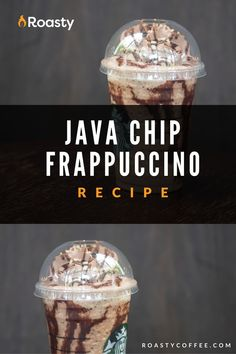 Try out this homemade java chip frappuccino! Doesn't everything taste better homemade anyway? If you're looking to treat yourself, or you're really just craving this Starbucks order, give this recipe a go! FYI- If you like coffee and chocolate, you probably already have the ingredients in your cabinet! Frappuccino Recipe, Starbucks Frappuccino, Easy Coffee, Coffee Ideas, Coffee Drink Recipes, Coffee Drinks, Make Your Own Coffee, How To Order Starbucks, Chocolate Syrup