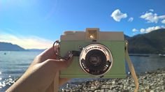 Mintgreen Retro Camera 😍 Diana F+ Dream Photo by: Travellovervagabond (Instagram) Check it please out :) It's a great Blog 😍