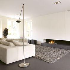 Wonen openhaard on pinterest tv walls tvs and met - Size tapijt in de woonkamer ...