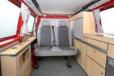 Sunvan T21 / Neufahrzeuge / Komplettfahrzeuge – Köhler Wohnmobile Bus Camper, Mini Camper, Campers, Vw T5, Volkswagen, Camping Box, Expedition Vehicle, Van Life, Caravan